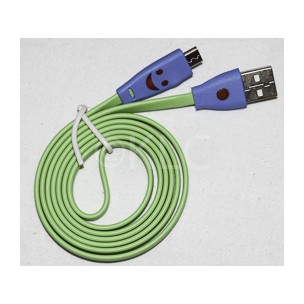 Cable Led Smile Micro Usb